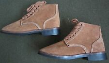 "WWII US ARMY INFANTRY RUSSETS TYPE II ""ROUGHT OUTS"" COMBAT FIELD BOOTS- SIZE 9"