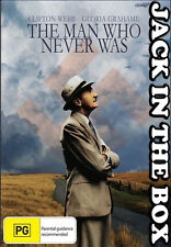 The Man Who Never Was DVD NEW, FREE POSTAGE WITHIN AUSTRALIA REGION ALL