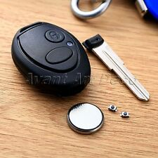 2 Buttons Remote Key Fob Case Shell Repair For Discovery 2 TD4 TD5 75 Land Rover