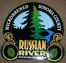 RUSSIAN RIVER BREWING Logo Pliny The Elder METAL TACKER SIGN craft beer brewery