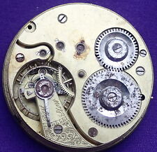 Unusual Early OMEGA  HUNTER Pocket Watch Movement number 366529