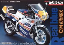 Honda NSR50 Gag Bicicleta Rothmans DECAL set