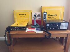 Royce CB Radios Base and Mobile Units With Tuner Power Mike