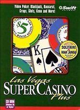 Las Vegas Super Casino Plus (PC, 1997) Video Games