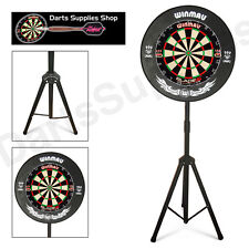 The Darts Caddy Kit, Portable Dartboard Stand with Winmau Blade 5 Dartboard