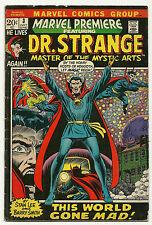 Marvel Premiere 1972 #3 Very Good/Fine Dr. Strange