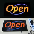 Open LED Sign Neon Business Light Classic Look Bar coffee shop advertise F171