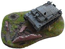 RESIN Schnell – Bausatz Diorama Ruine-Panzerstellung für 1:72 (05) **NEU**