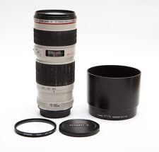 Canon EF 70-200mm 70-200 f/4L f/4 f4L f4 L Non-IS USM + UV Filter - SHARP! (USA)