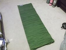 "US MILITARY SELF INFLATING GREEN SLEEPING MAT 73"" (L) X 20"" (W)"