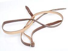 Tragriemen Verlängerung aus Leder, ca.125cm lang, Qualität usw. ähnl. Rollei