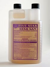 STAR SAN 8 OZ SANITIZER STARSAN NO RINSE STERILIZES HOMEBREW EQUIPMENT QUICKLY