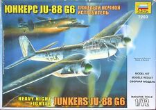 JUNKERS Ju-88 G6 HEAVY NIGHT FIGHTER  ZVEZDA PLASTIC KIT 1/72