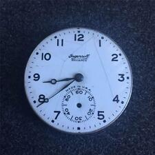 VINTAGE 16 SIZE INGERSOLL RELIANCE OPENFACE POCKET WATCH MOVEMENT