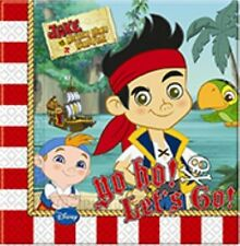 Jake & The Neverland Pirates YO-HO 20 Luncheon NAPKINS (Party/Birthday/Disney)