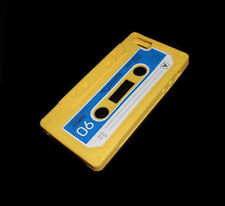NEW YELLOW CASSETTE TAPE SILICONE RUBBER IPHONE 5 5S CASE SUPER FAST SHIPPING