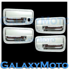 95-04 TOYOTA TACOMA Triple Chrome plated 4 Door handle no PSG Keyhole cover