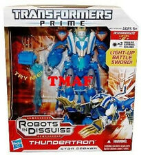 TRANSFORMERS PRIME Robots In Disguise THUNDERTRON Voyager Class MIMB In Stock
