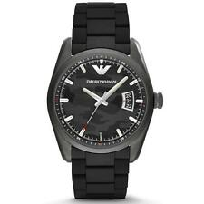 EMPORIO ARMANI  Black Camouflage 42.5MM Men's Watch AR6052 NEW! Fast Shipping!