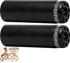 """SHADOW CONSPIRACY 4.33"""" LITTLE ONES 3/8""""-14MM AXLE BLACK  BICYCLE PEGS--1 PAIR"""