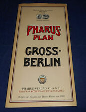 Reprint Pharus-Plan Grossberlin 1905