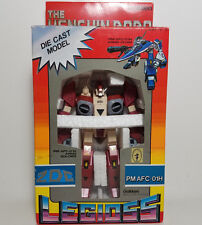 Robotech Macross Henshin Robo Red Alpha Veritech Fighter PM AFC-01H Armo Soldier