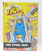 "BanDai 1995 THE TICK ""THE STEEL BOX"" Playset Cartoon Series Action Figure NIP"