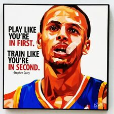 Stephen Curry canvas quotes wall decals photo painting framed pop art poster