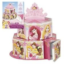 Disney PRINCESS ~ (8) Favor Boxes & Table Decoration ~ Birthday Party Supplies