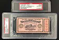 ARMY vs NAVY TICKET STUB PSA 11/27/1926 SOLDIER FIELD DEDICATION CHICAGO BEARS
