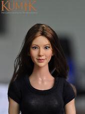 """1:6 Scale KUMIK 13-96 Female head Sculpt F 12"""" Hot Toys Phicen Action Figure"""