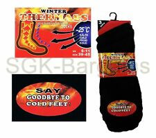 3 Pairs Heavy Duty Multi Colour Thermal Work Socks Extra Thick Long Warmth New
