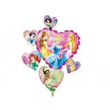 "NEW Disney Princess Super Shape 34""x 28"" Jumbo Foil Balloon Birthday Supplies~"
