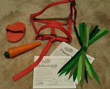 FURREAL PONY ACCESSORIES RED HALTER CARROT BRUSH HAY BUTTERSCOTCH SMORES MANUAL