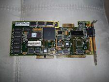 VINTAGE scheda Video grafica da 16BIT SLOT ISA VGA RARA per 386 486 IBM OLIVETTI