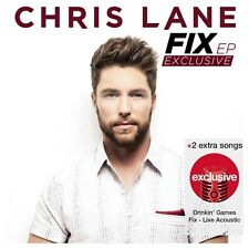 Chris Lane Fix EP 2016 Limited Edition Target Exclusive 2 Bonus Tracks NEW