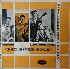 JOHNNY AND THE HURRICANES Red River Rock Vinyl EP Record Aus Press