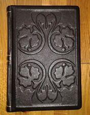 Black Notebook, Diary, Journal, genuine leather, handmade, gift, art, craft