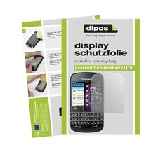 Blackberry Q10 Schutzfolie matt Displayschutzfolie Folie Antireflex dipos 1A