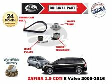 FOR VAUXHALL ZAFIRA 1.9 CDTI 8V 2005- TIMING CAM BELT KIT + WATER PUMP SET