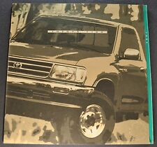 1994 Toyota T100 Pickup Truck Catalog Brochure SR5 4x4 Excellent Original 94