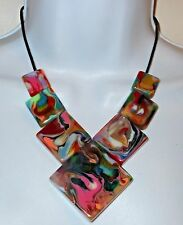 Sobral Pollock Jackson Reversible Statement Necklace Direct From Brazil