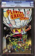 Flaming Carrot # 27 CGC 9.8 White (Dark Horse,1991) Teenage Mutant Ninja Turtles
