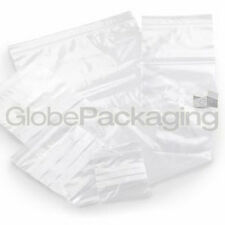 "100 x Grip Seal Self Resealable POLY BAGS 6 ""X 9"" GL11"