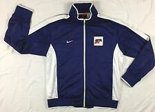 Men's XXL NIKE USA Hockey Team Jacket Coat IIHF Winter Olympics Red White Blue