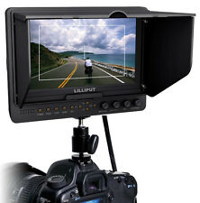 LILLIPUT 1080P HDMI  7'' LCD 665/O HD Camera Video Field Monitor for BMPCC,Nikon