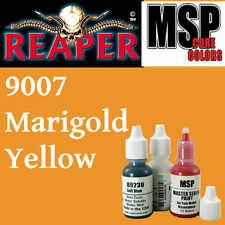 MARIGOLD YELLOW 9007 - MSP 15ml 1/2oz paint peinture figurine REAPER MINIATURE