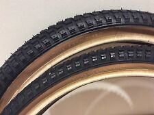 "Cheng Shin SnakeBelly Tyre 20X2.125"" PAIR FAT FAT Raleigh Burner Old School BMX"
