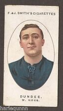 1917 F & J SMITH FOOTBALL CLUB RECORDS #7 W. HOGG DUNDEE