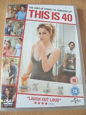 This Is 40 - Paul Rudd & Leslie Mann Comedy - Genuine UK Region 2 DVD